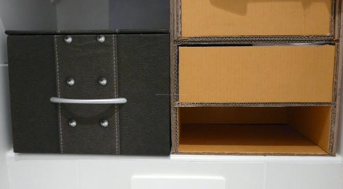 Rangements en carton