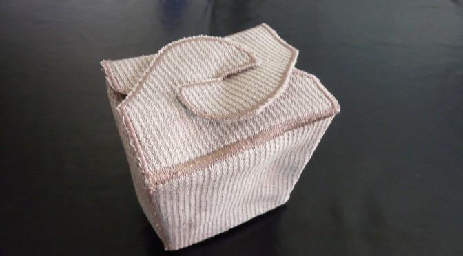 Boîte en tissu