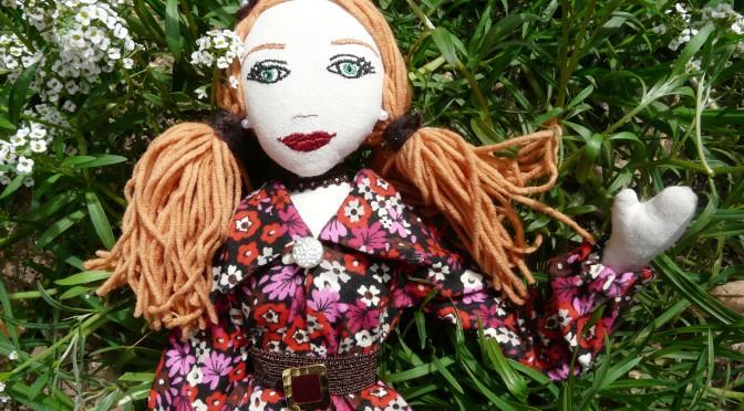 """Poupée """"Maï"""" n°31 Art Doll"""