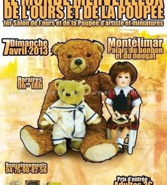 1er salon de l'ours et de la poupée d'artiste et miniatures