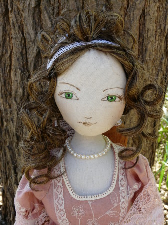 Articulated cloth doll Maï 13