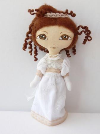 OOAK Art Doll Small Maï 22