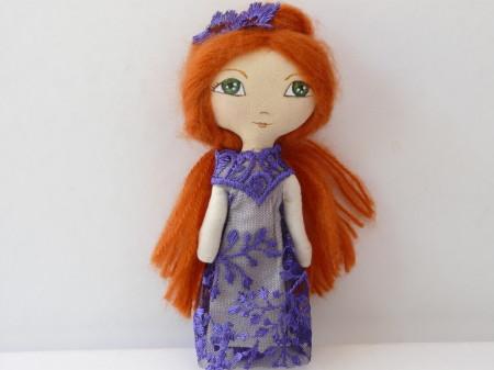 OOAK Art Doll Small Maï 18
