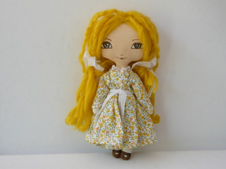 OOAK Art Doll Small Maï 20