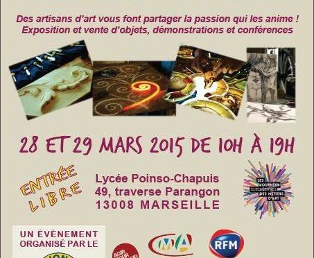 3ème Salon des métiers d'Art à Marseille