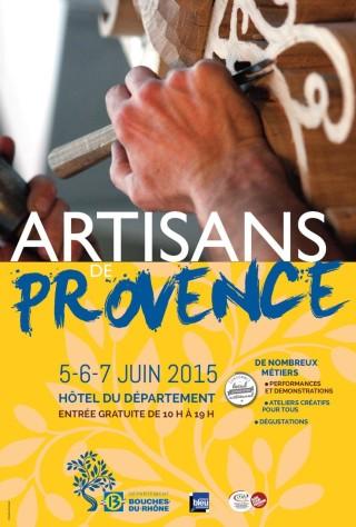 Affiche Artisans de Provence 2015