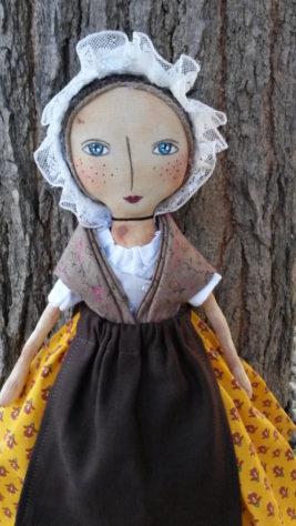 poupée folklorique primitive