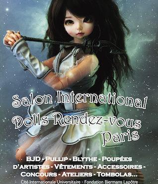 Dolls Rendez-Vous 4 décember 2016 em Paris.