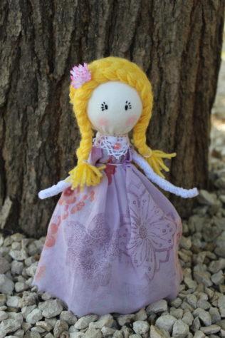 tuto doll Lyli- Violette