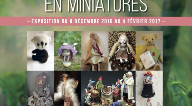 """Exposition """"Eine Welt in Miniatur"""""""